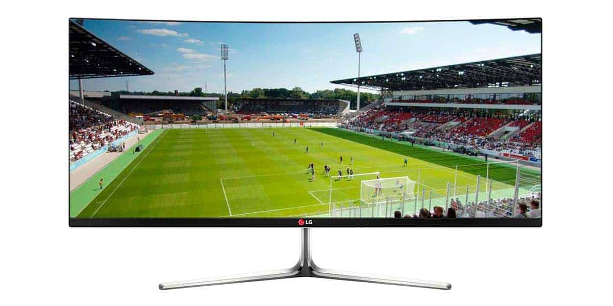 LG 34UC97 Curved Ultrawide Monitor
