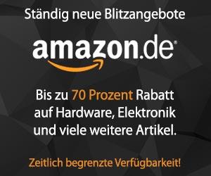Blitzangebote bei Amazon